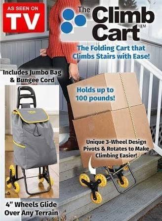 Climb Cart Tas 3 Roda Troly Belanja Trolley Bag Shopping Troli .